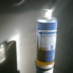 Dr. Bronner Bottle in bright tlight